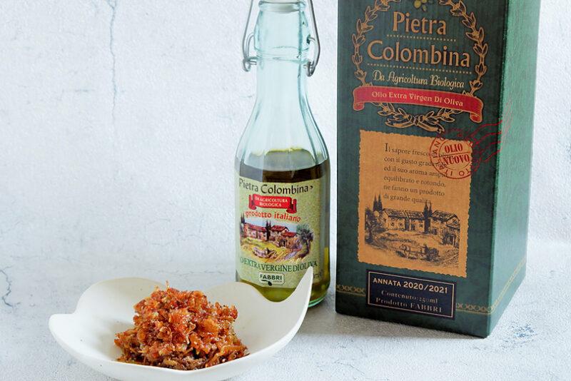 カリカリ食感が楽しい!万能食べるオリーブオイルのレシピ