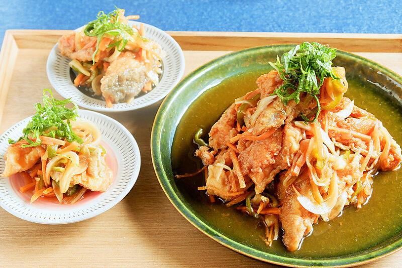 節約&栄養満点!作り置きにぴったりな鮭のあらで作る梅南蛮漬け