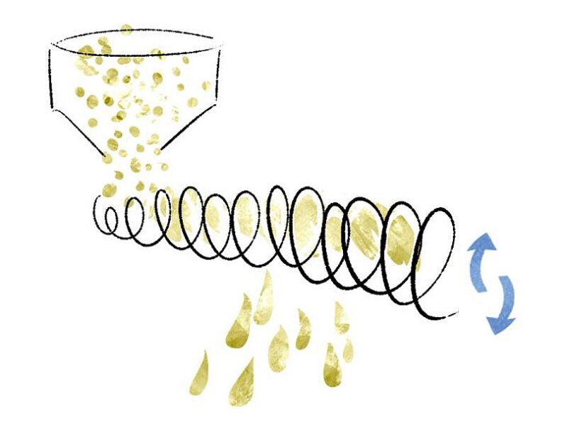 植物油の製造工程