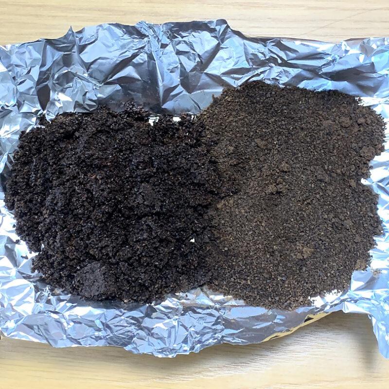 ドリップコーヒーの淹れかす、何日で乾燥する?