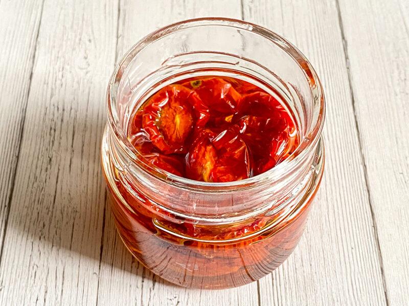 簡単なセミドライトマトの作り方