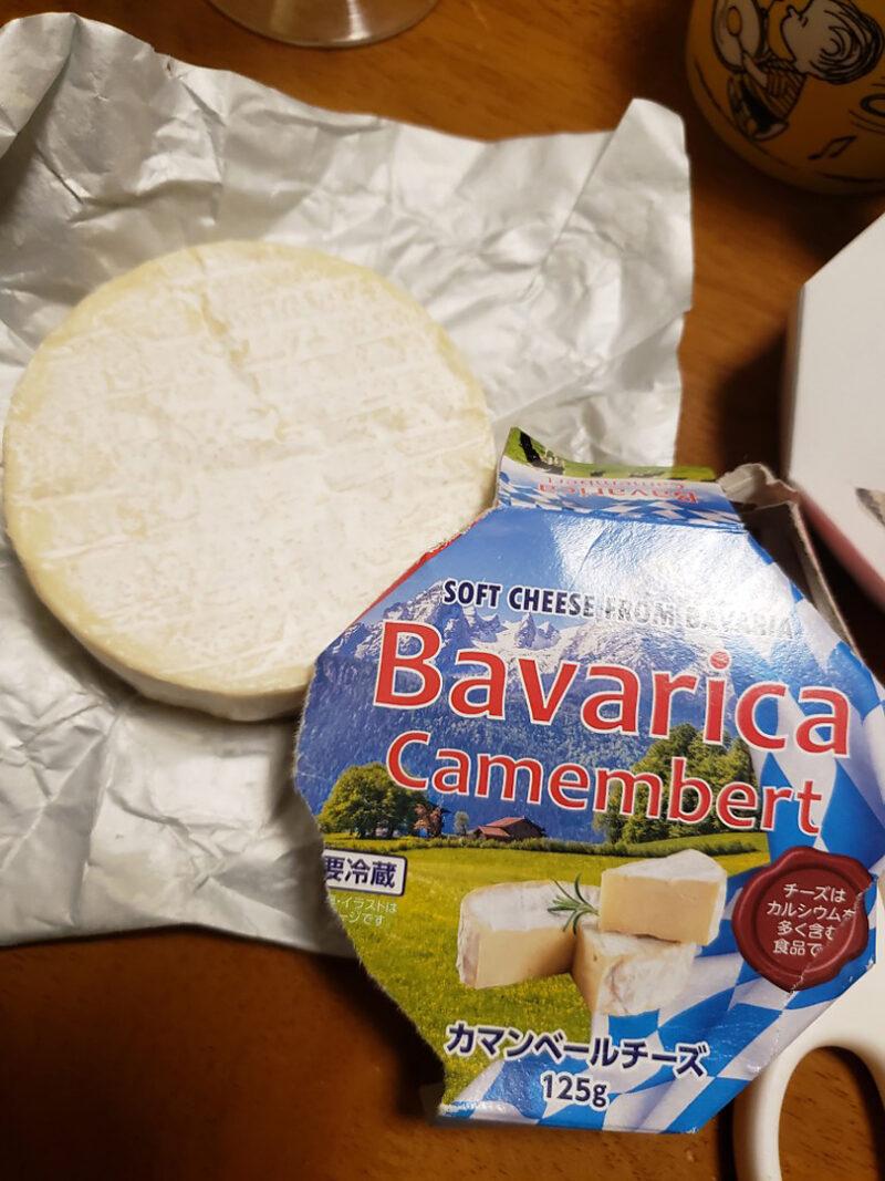 業務スーパーで購入したカマンベールチーズ