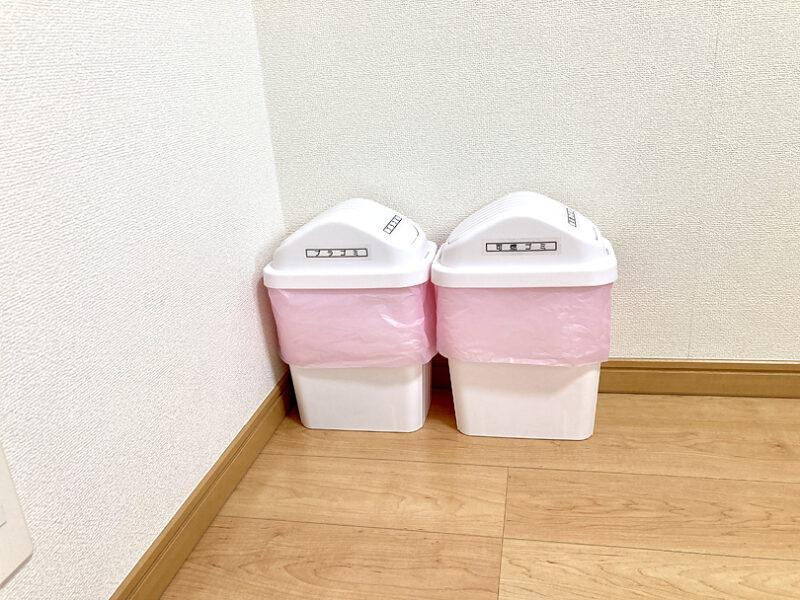 お部屋のゴミ箱