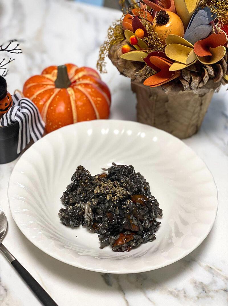 ハロウィンに食べたい!イカスミのリゾットレシピ